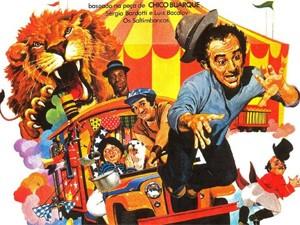 Cartaz original do filme 'Saltimbancos Trapalhões'. Texto que inspirou o longa de 1981 será adaptado para musical em 2014 (Foto: Divulgação)