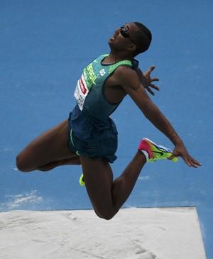Ricardo Costa de Oliveira salto em distância Paralimpíada Rio (Foto: Ricardo Moraes / Reuters)