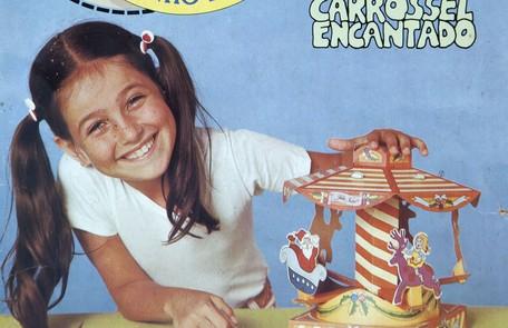 Monique Curi começou a carreira como modelo infantil Reprodução