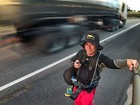 A pé, fotógrafo parte em jornada para retratar a vida à beira de rodovia no RN