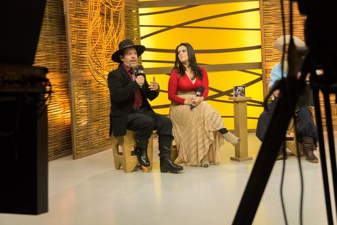 Shana Müller e Neto Fagundes (Foto: Maicon Hinrichsen/RBS TV)