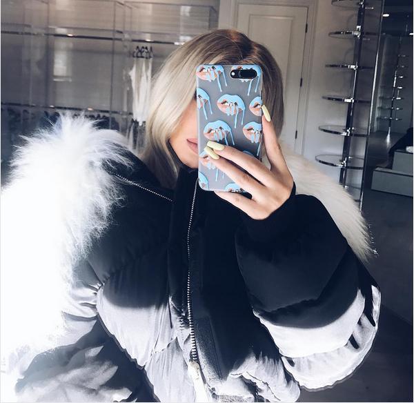 A socialite Kylie Jenner (Foto: Instagram)