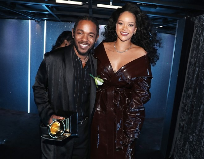 Rihanna no Grammy 2018 (Foto: Getty Images)