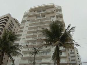 Triplex em Guarujá (Foto: Reprodução/TV Globo)