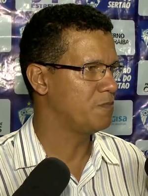 Cleibson Ferreira, Atlético-PB, Atlético de Cajazeiras (Foto: Reprodução / TV Paraíba)