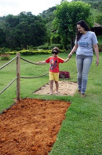 plantas jardim sensorial : plantas jardim sensorial:Jardim Sensorial pode ajudar crianças. (Foto: Divulgação)