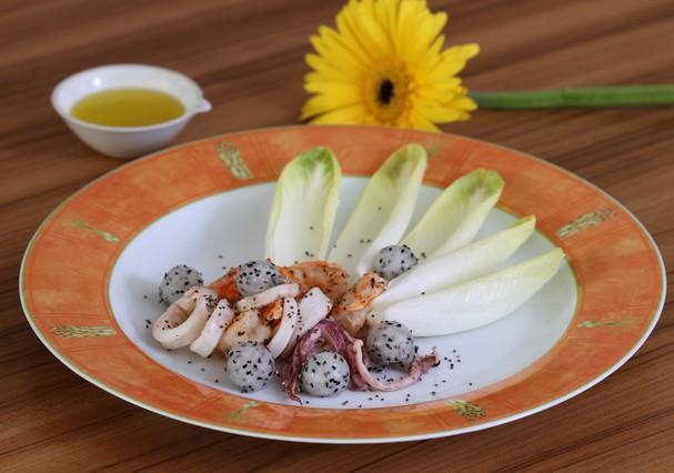 Salada de lula (Foto: Divulgação)
