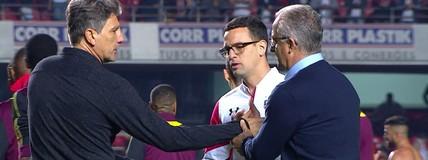 Muricy mostra confiança no trabalho de Dorival e elogia contratação de Hernanes