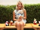 Karina Bacchi fala sobre sua relação com o cãozinho Joy, sua nova paixão