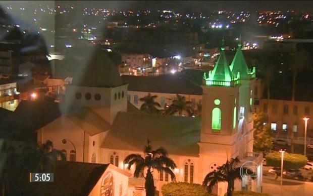 Hora 1 destaca tremor sentido em Porto Velho (Foto: Hora 1)