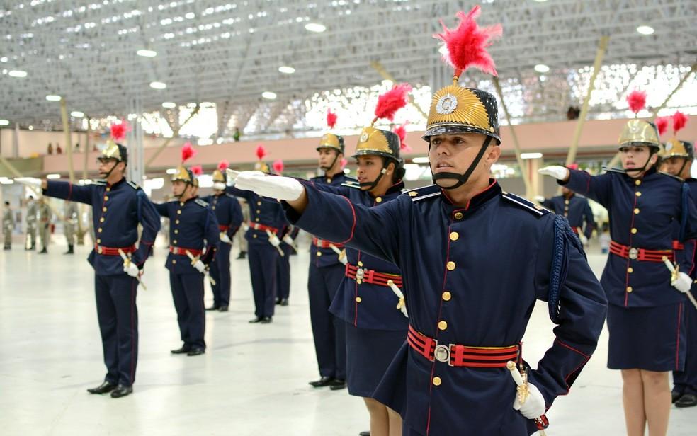 Curso de Formação de Oficiais da Polícia Militar da Paraíba (CFO-PMPB) (Foto: Wagner Varela/Assessoria PMPB)