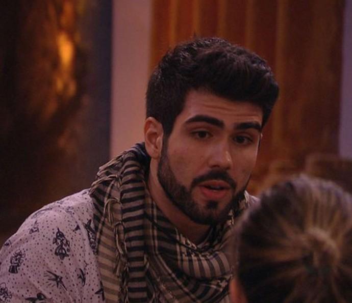 Juliano Laham quando participou do BBB16 (Foto: TV Globo)