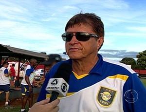 Valter Ferreira, técnico do Cene (Foto: Reprodução/TV Morena)