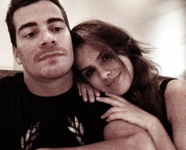 3 anos de namoro e, segundo a atriz, eles alimentam a relação todos os dias (Foto: Arquivo Pessoal)