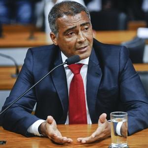 Romário senador (Foto: Marcos Oliveira / Agência Senado)