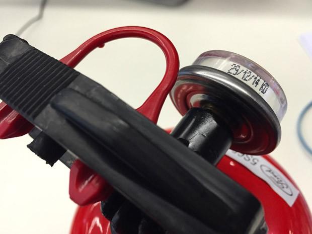extintor abc validade (Foto: G1)