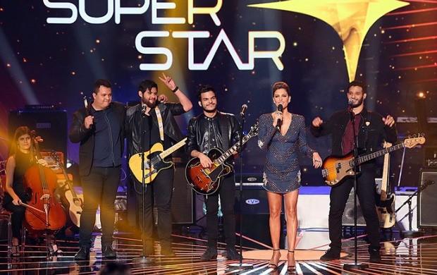Banda Versalle conquista o terceiro lugar no SuperStar (Foto: Isabella Pinheiro/ Gshow)
