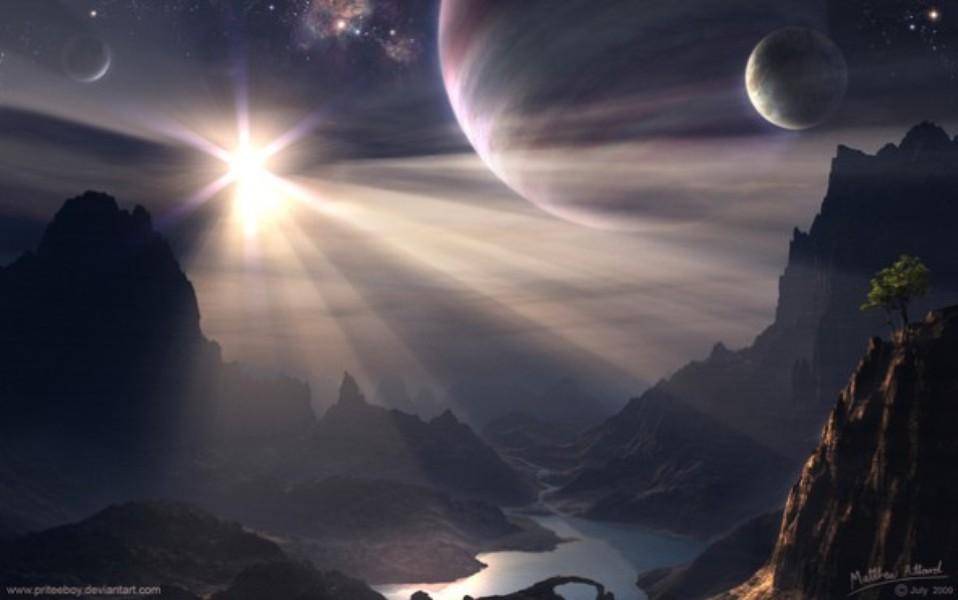 Papel de parede planetas download techtudo for Sfondi desktop universo