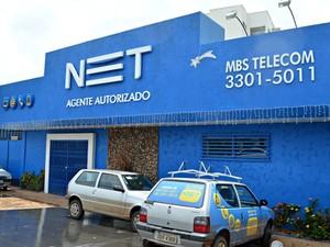 NET fechada Rio Branco Acre  (Foto: Caio Fulgêncio/G1)