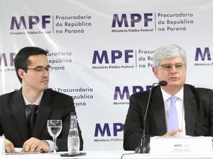 MP coletiva Lava Jato 02 (Foto: Vagner Rosario/Futura Press/Estadão Conteúdo)