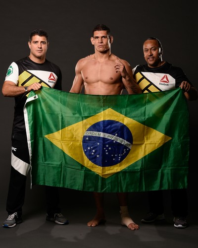 Cézar Mutante, Daniel Valverde, César Carneiro, MMA, UFC (Foto: Getty Images)