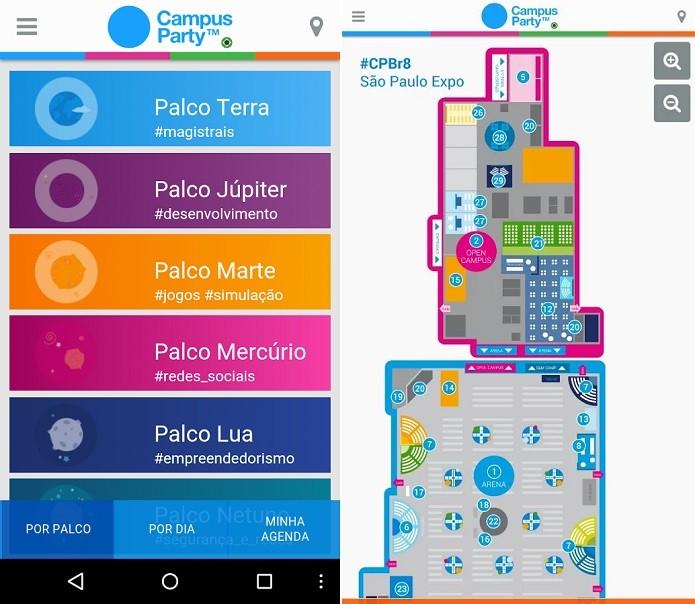 App da Campus Party para Android ganhou update às vésperas do evento (Foto: Divulgação) (Foto: App da Campus Party para Android ganhou update às vésperas do evento (Foto: Divulgação))