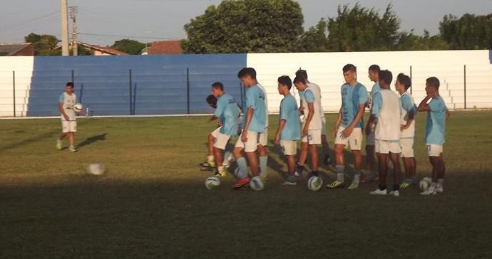 treino Parnahyba (Foto: Glaucio Resende)