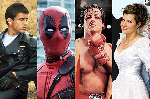Mad Max, Deadpool, Rocky, Casamento Grego (Foto: Divulgação)