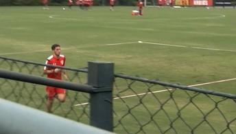 São Paulo treina para o clássico; Calleri ainda é dúvida para pegar o Palmeiras
