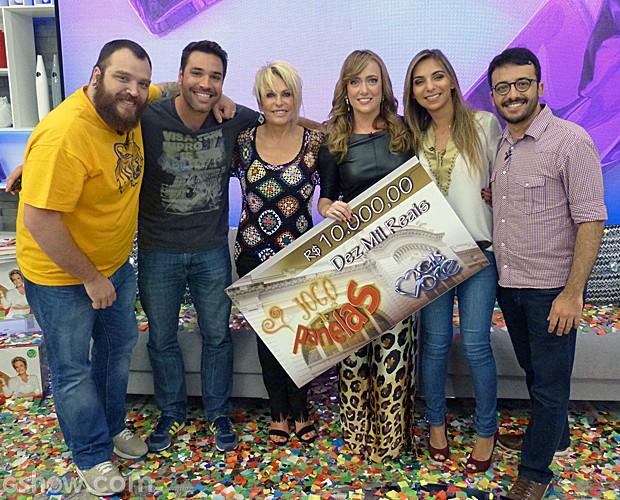 Ana Luiza é a campeã do Jogo de Panelas XI (Foto: Mais Você/TV Globo)