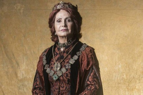 Rosamaria Murtinho é Crisélia em Deus salve o rei (Foto: Divulgação)