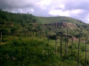 Instalações de recuperação de ouro na Serra Pelada (Foto: Divulgação/ Marcello Veiga)