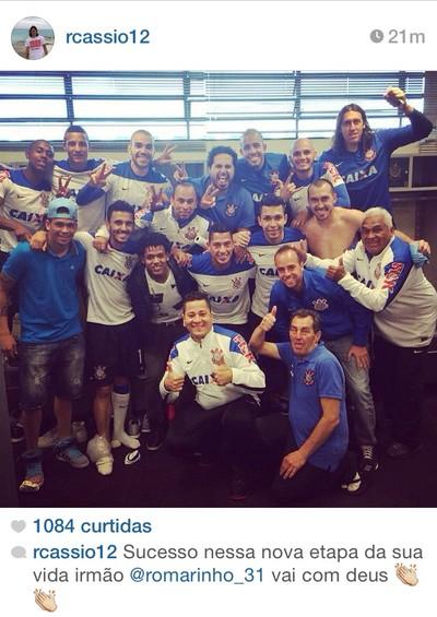 Despedida Romarinho Corinthians (Foto: Reprodução Instagram)