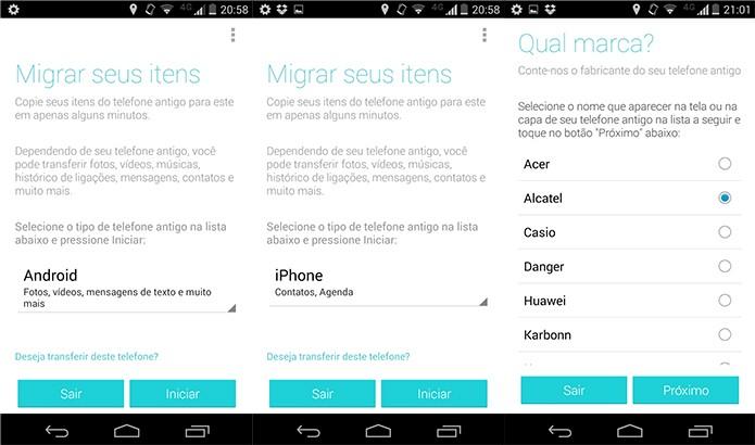 Migração Motorola é a maneira inteligente de trocar de smart sem perder seus dados (Reprodução/Pedro Cardoso)