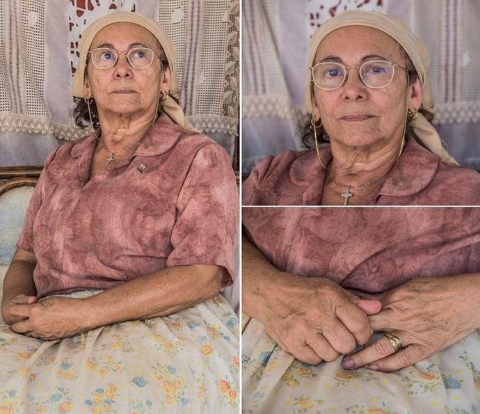 Piedade é uma matriarca de fibra e com valores enraizados em sua vivência (Foto: Caiuá Franco/ Globo)