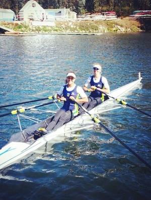 Fernanda Nunes e Vanessa Cozzi venceram o Pré-Olímpico, no Chile (Foto: Reprodução/Instagram)