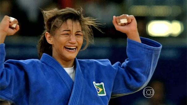 A judoca Sarah Menezes, ouro olímpico no judo, representa o Brasil nos Jogos Rio 2016 (Foto: Reprodução)