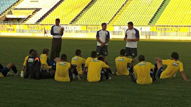 Horizonte, no Estádio Domingão (Foto: Diego Morais / Globoesporte.com)