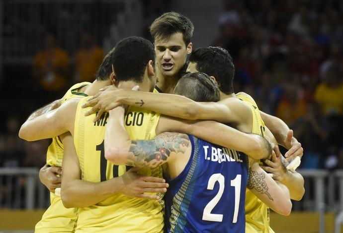 Pan de Toronto vôlei masculino semifinal Brasil x Porto Rico (Foto: William Lucas/inovafoto)