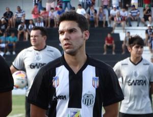 Thiago Laranjeira, meia central (Foto: Vital Florêncio / GloboEsporte.com)