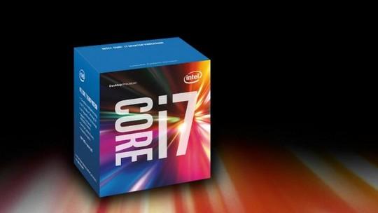Foto: (Processador com tecnologia Core i7 da Intel (Foto: Divulgação/Intel))