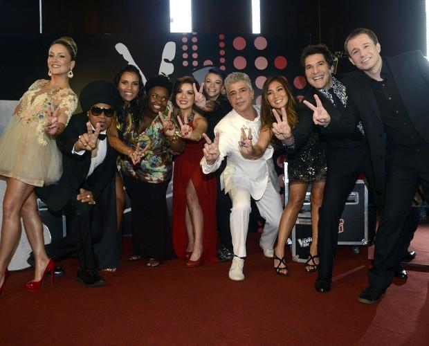 Final The Voice Coletiva de Imprensa (Foto: The Voice Brasil / TV Globo)