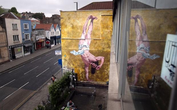 Bristol, na Inglaterra, é considerada uma das principais cenas do grafite mundial (Foto: Getty Images)