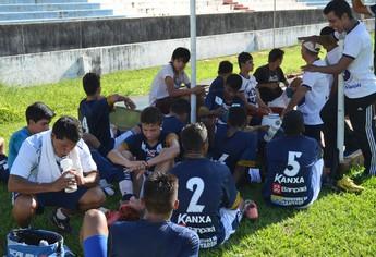 Sub-17 São Francisco (Foto: Gustavo Campos/GloboEsporte.com)