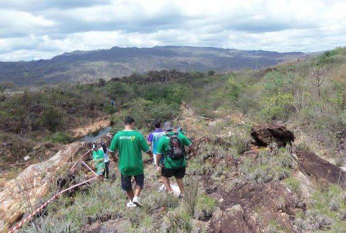 Esta é a rotina dos praticantes da modalidade do Enduro a Pé que em Montes Claros (Foto: Franciane Santana/Arquivo pessoal)
