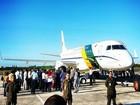 Avião da FAB decola com corpo Marcelo Déda com destino a BA
