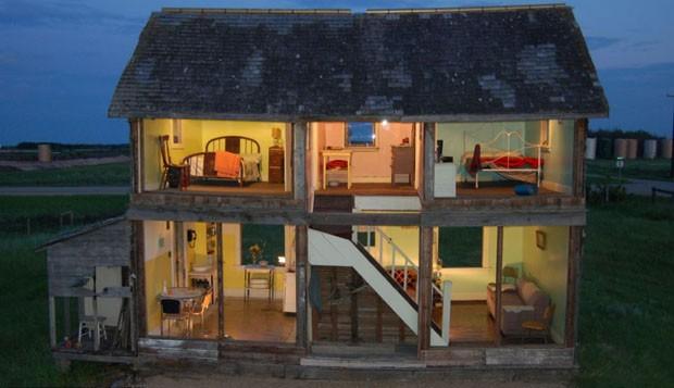 Uma casa de bonecas em tamanho real casa vogue lazer for Casa actual