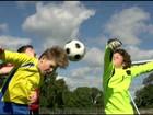 Federação de futebol dos EUA proíbe crianças de cabecear a bola