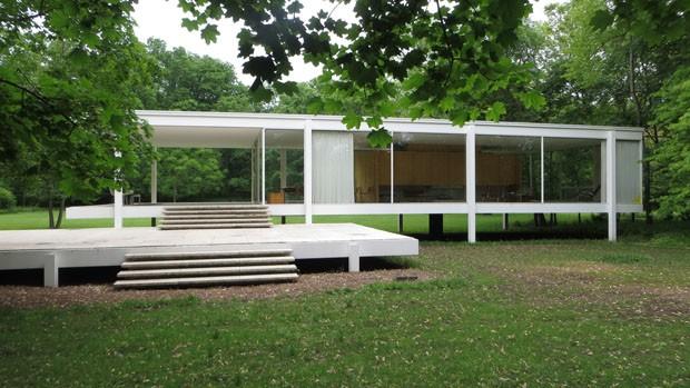 A história da icônica Farnsworth House, de Mies van der Rohe, ganha filme (Foto: Divulgação)