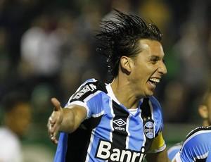Pedro Geromel Giuliano Grêmio Chapecoense (Foto: Lucas Uebel/Grêmio)